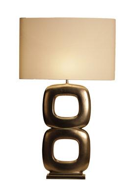 Tafellamp Maxime Due Quadrato Mat Nikkel