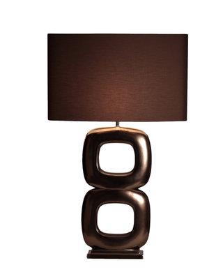 Tafellamp Stout Verlichting Rosé Brons Mat