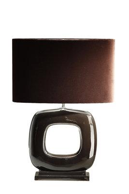 Tafellamp QuadratoStout Verlichting Bruin