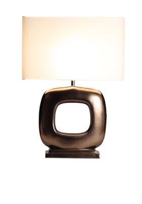 TafellampStout Verlichting Rosé Brons Mat