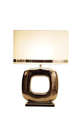 Stout Verlichting Tafellamp Glans Nikkel