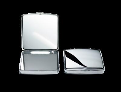 Make-up Spiegel TS 1 Handtas Chroom en LED