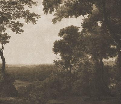 Italiaans Landschap Behang Pago