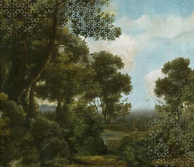 Italiaans Landschap Behang Silva