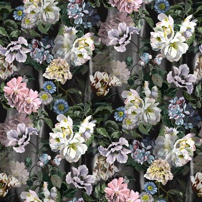 Delft Flower Grande Behang Designers Guild
