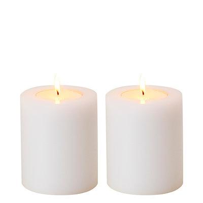 Waxinelichthouder 12 cm Witte Kaars
