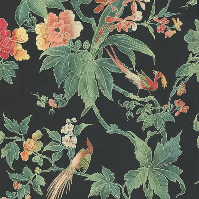 Little Greene Paradise Behang - Nightshade