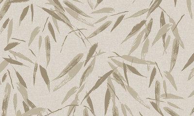 Arte Flamant Bambou Behangpapier – Les Memoires