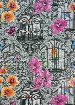 Matthew Williamson Behang Orangery
