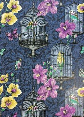 Vogelkooi Behang Orangery Matthew Williamson