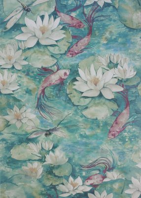 Matthew Williamson Waterlily Behang