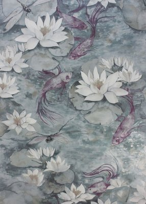 Matthew Williamson Behang Waterlily