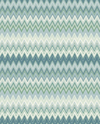 Missoni Behang Zigzag Multicolore