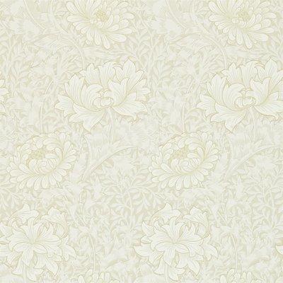 Morris & Co. Chrysanthemum Behang - Chalk
