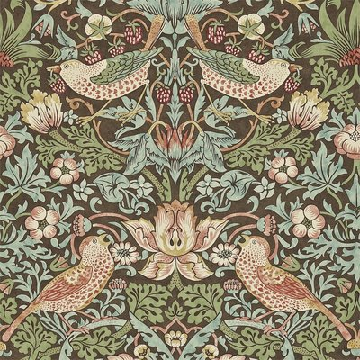 William Morris Strawberry Thief Behang - Morris & Co.