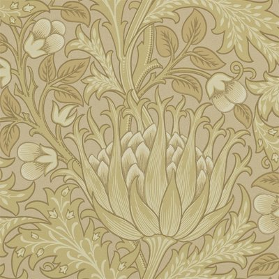 Morris & Co Artichoke Behang - William Morris