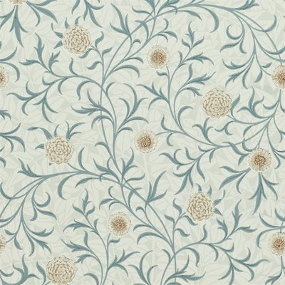 Scroll Behangpapier Morris & Co - William Morris