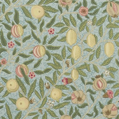 Fruit W/P Behang Morris & Co - William Morris