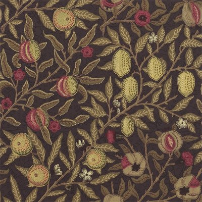 Fruit Behang Morris & Co - William Morris