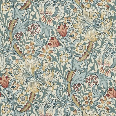 Morris Golden Lily Behangpapier - Morris & Co