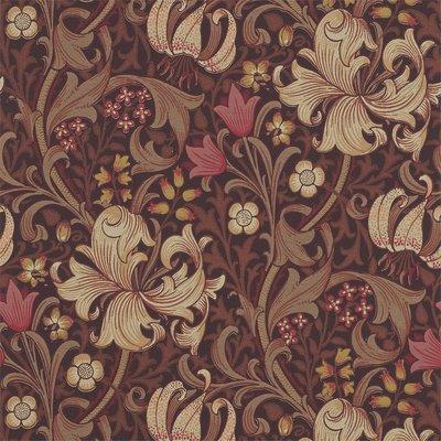 Golden Lily Behang Morris & Co- William Morris