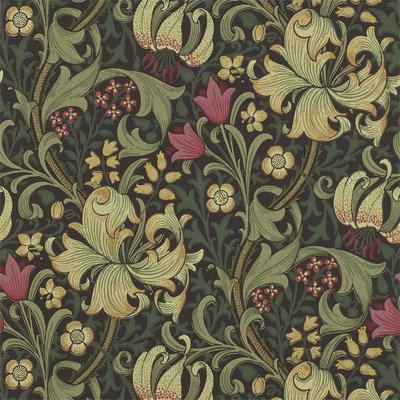 Golden Lily Behangpapier Morris & Co