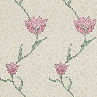 Garden Tulip Behangpapier Morris & Co
