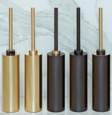 Gouden Toiletborstelset Decor Walther - Wandmodel - Century WBG