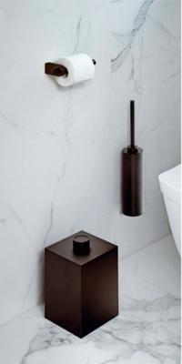 Toiletborstelset Wandmodel Decor Walther Dark Bronze
