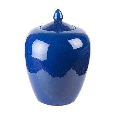 Gemberpot Blauw Porselein