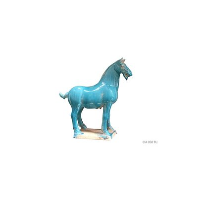 Chinees Paard Turquoise Medium