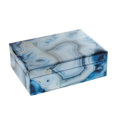 Marmeren Opbergbox Blauw