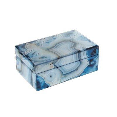 Marmeren Box Blauw
