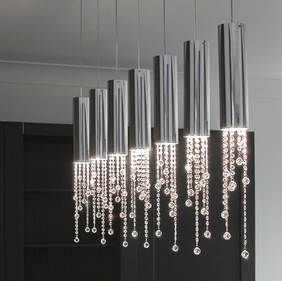 Buizen Hanglamp Sexy Crystals Ilfari - H7