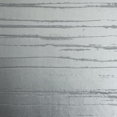 Lacca Metal Behang Dedar - Zilver