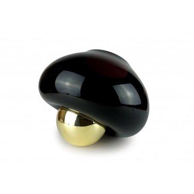 Vanessa Mitrani Vaas Cirkel Gravity Zwart Bronze