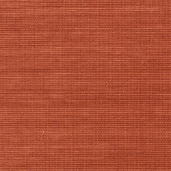 Shang Extra Fine Sisal Behang Thibaut Sunbaked Red