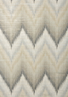 Piedmont Behang Thibaut Chevron Grey