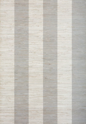 Crossroad Stripe Behang Thibaut - Grey
