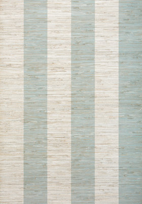 Crossroad Stripe Behang Thibaut - Aqua