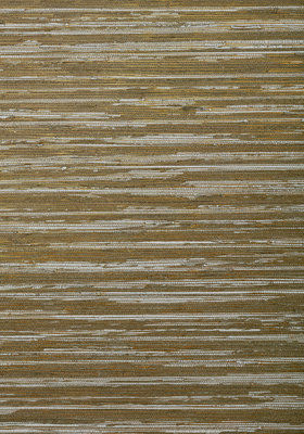 Raffia Behang Thibaut Canyon - Metallic Gold
