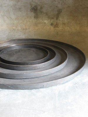 Aluminium Dienblad 42 cm 'Bronze'