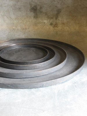 Aluminium Dienblad 55 cm 'Bronze'