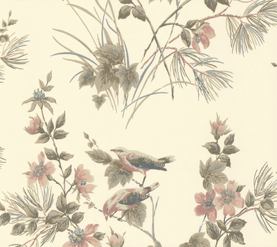 Rosemore Behang 1838 Wallcoverings - Natural