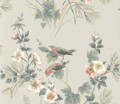 1838 Wallcoverings Rosemore Behang - Grey