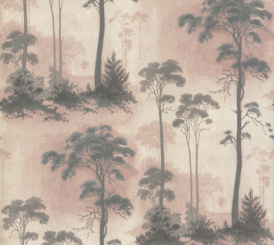 1838 Wallcoverings Prior Park Behang - Pink
