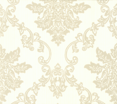 Hampton Behang 1838 Wallcoverings - Ivory