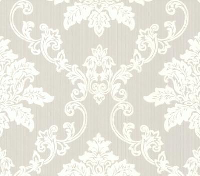 1838 Wallcoverings Barok Behang Hampton - Grey