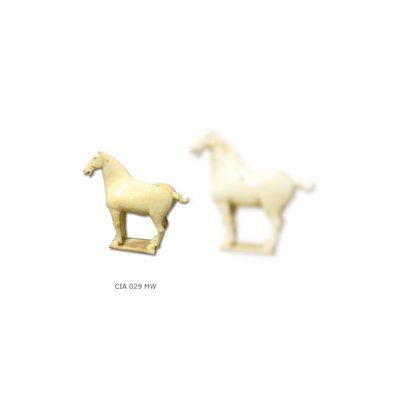 Chinees Paard Wit - Medium