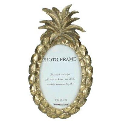 Ananas Fotolijst Goud